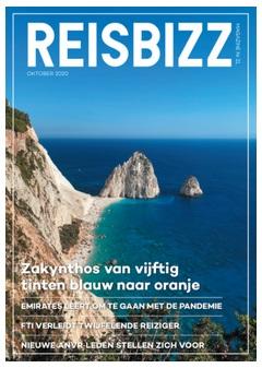 Reisbizz magazine oktober 2020