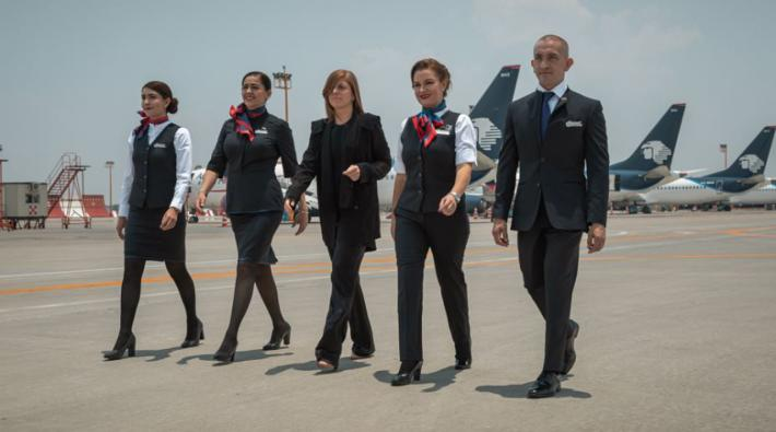 Aeromexico uniform 2019