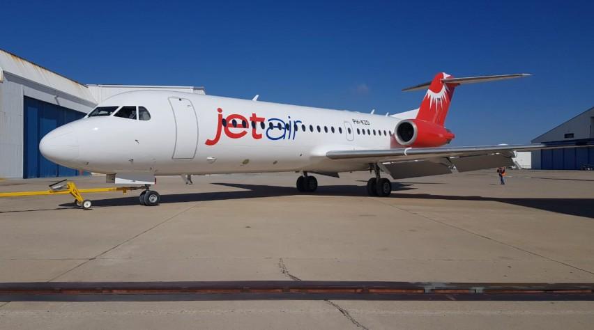 Jetair Caribbean Fokker 70