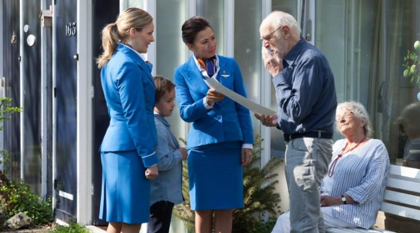 KLM Cabinepersoneel Opa Nol
