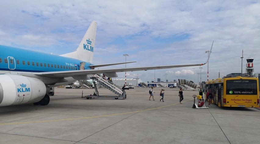 KLM Rotterdam Airport