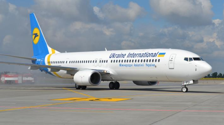 Ukraine International 737