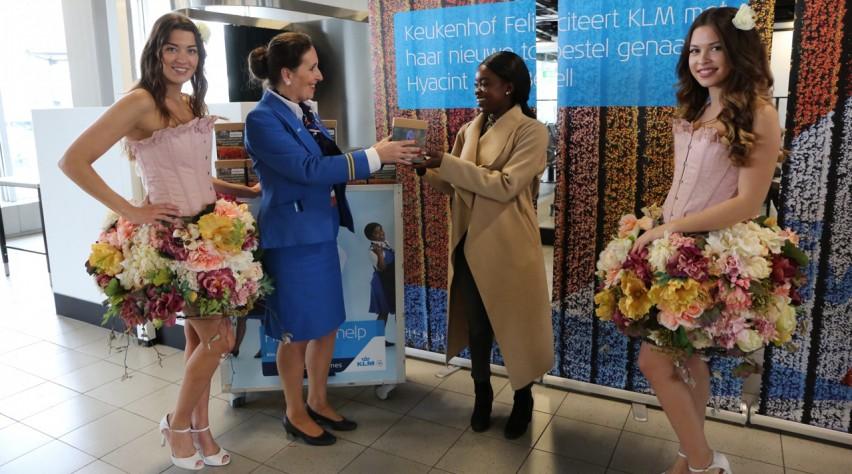 KLM bloemen
