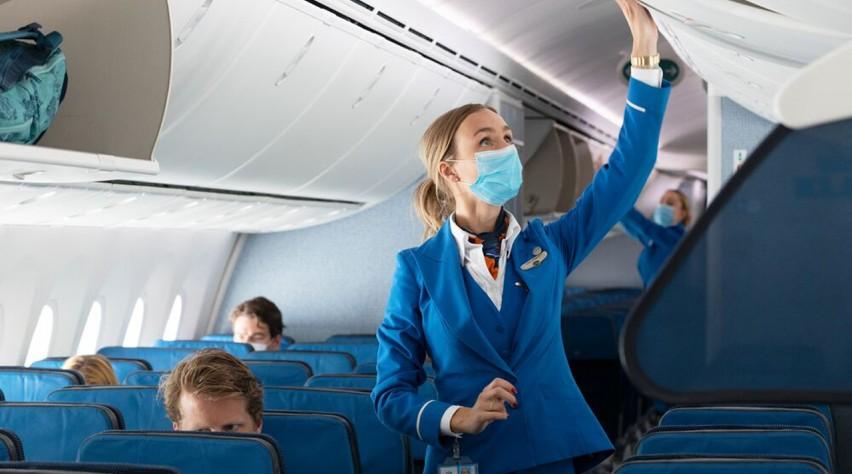 KLM mondkapje