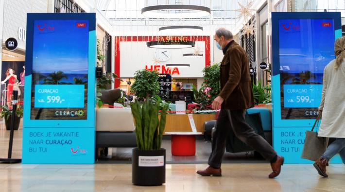 Digital Out-of-Home campagne©TUI Nederland