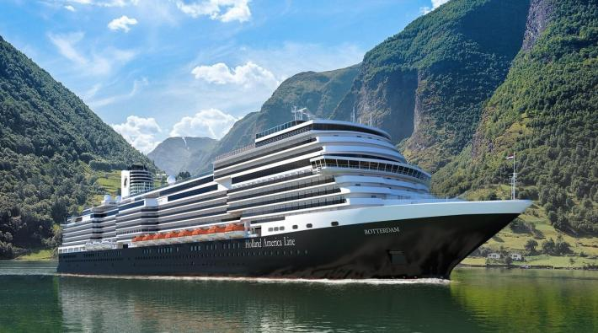 Nieuw vlaggenschip Rotterdam van Holland America Line