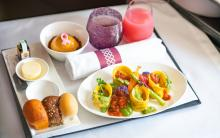 Qatar Airways vegan