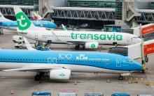 KLM Transavia Schiphol