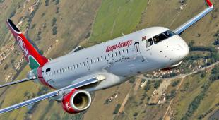 Kenya Airways Embraer 190