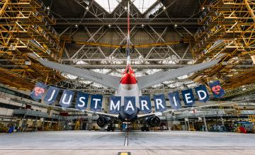 British Airways Just Married
