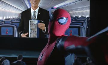 United Airlines Spider-Man