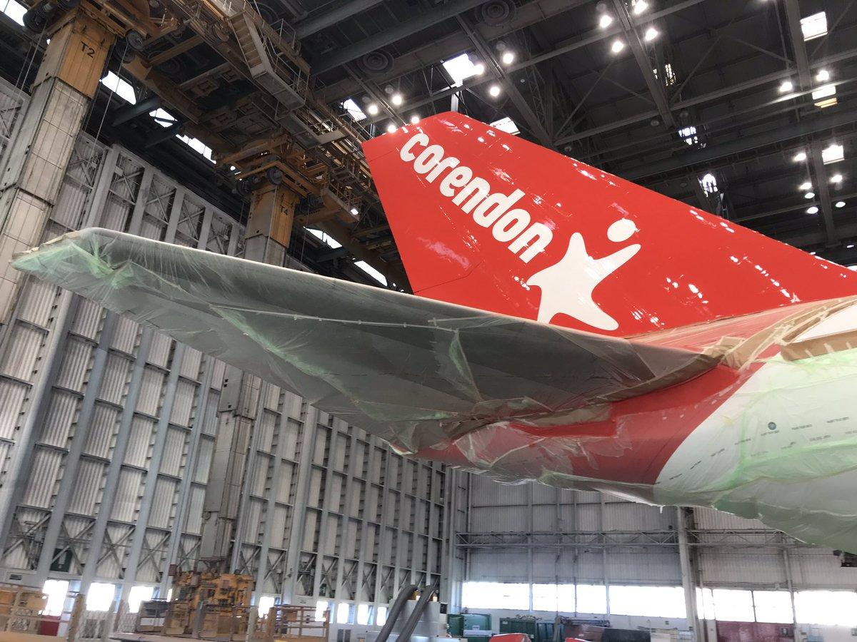 Corendon Boeing 747