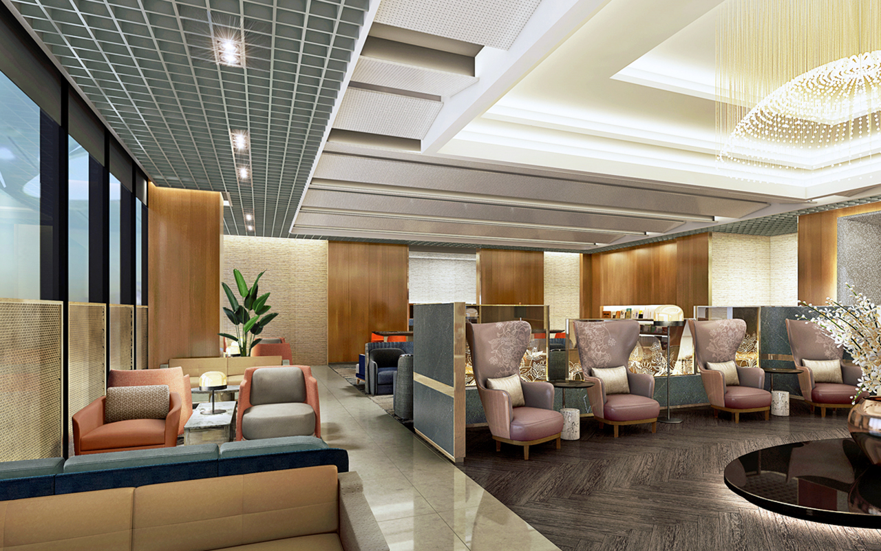 Singapore Airlines lounge T3