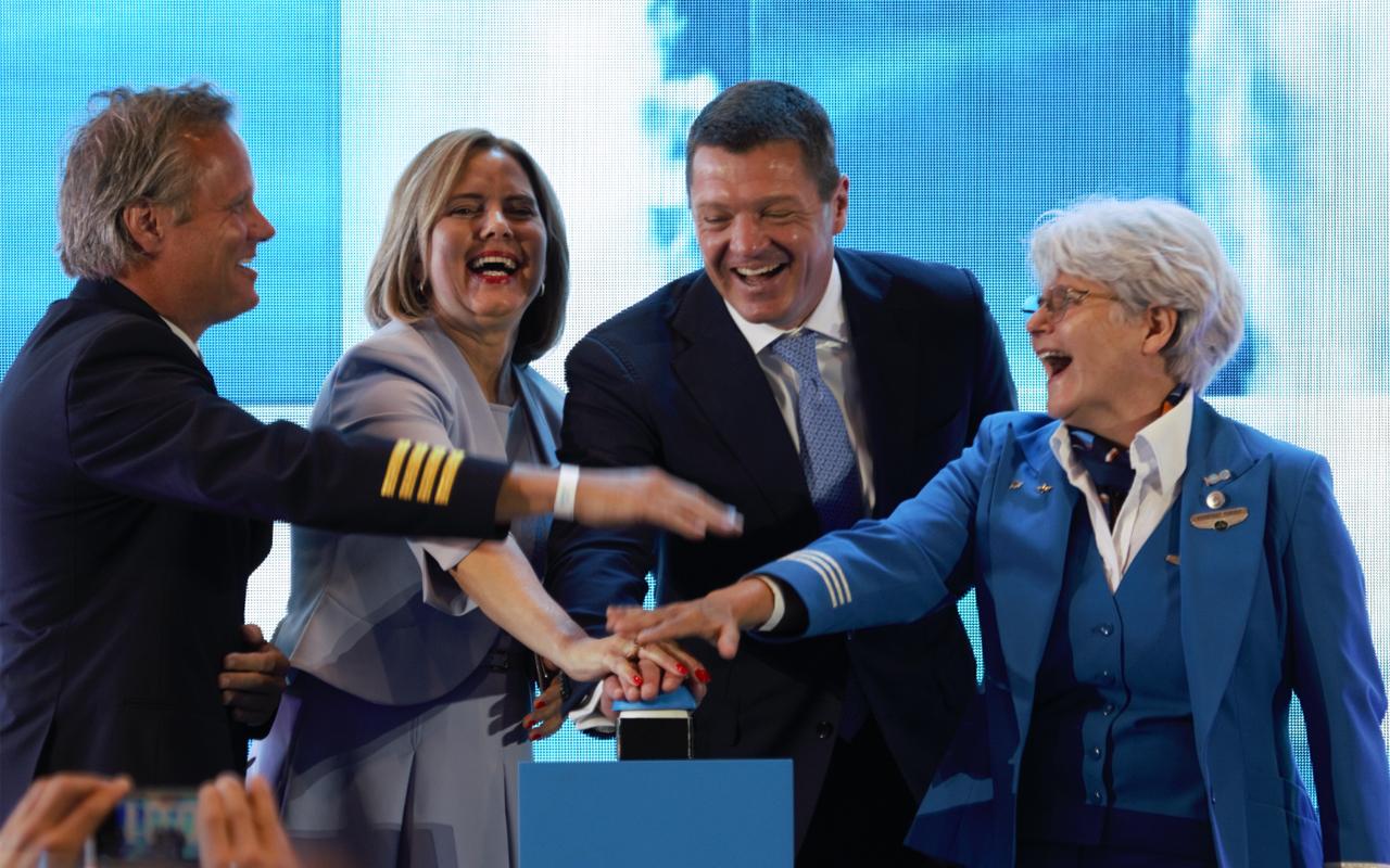 KLM aftrap