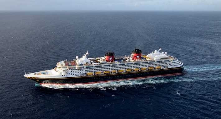 Disney Wonder at Sea